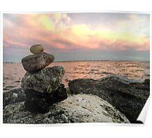 Serenity Sunset  Poster