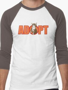 ADOPT Men's Baseball ¾ T-Shirt
