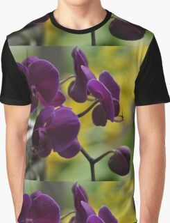 Purple Orchids, As Is Graphic T-Shirt