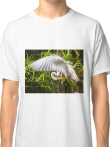 Great White Egret Classic T-Shirt