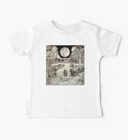 Surreal Landscape Baby Tee