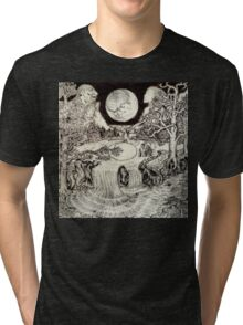 Surreal Landscape Tri-blend T-Shirt