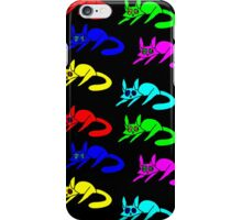 Colour Cats iPhone Case/Skin
