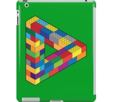 Play with Me: Lego Penrose Toy Triangle Impossible Object Illusion iPad Case/Skin