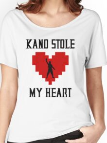 Mortal Kombat - Kano Stole My Heart Women's Relaxed Fit T-Shirt