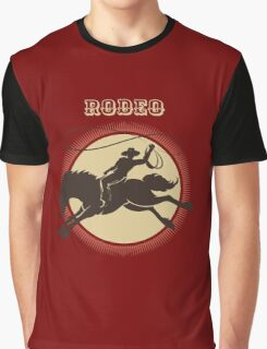 Rodeo Cowboy   Graphic T-Shirt