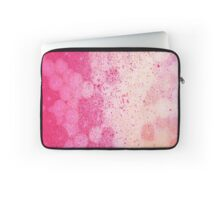 Delightful pink and gold Laptop Sleeve