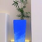 Minimalist Blue by Fara