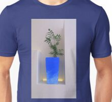 Minimalist Blue Unisex T-Shirt