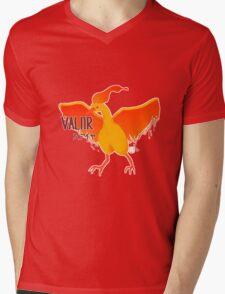 Pokemon GO - Team Red / Team Valor Mens V-Neck T-Shirt