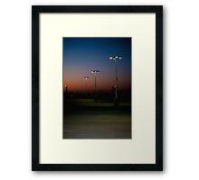 Garage Top Framed Print