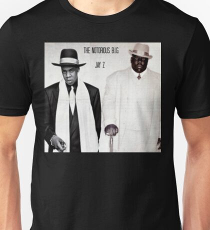 Jay-Z & Biggie Smalls Stage Performing 1990s Rap Unisex T-Shirt