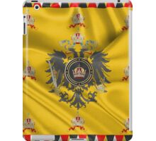 Imperial Crown of Austria over Standard of the Emperor iPad Case/Skin