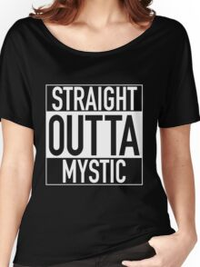 Team Mystic - Straight Outta Mystic Women's Relaxed Fit T-Shirt