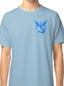 Pokemon Go | Team Mystic | Black Background | Small | New! | High Quality! Classic T-Shirt