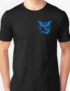 Pokemon Go | Team Mystic | Black Background | Small | New! | High Quality! Unisex T-Shirt