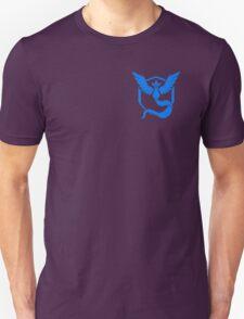 Pokemon Go   Team Mystic   Black Background   Small   New!   High Quality! Unisex T-Shirt