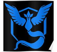 Pokemon Go | Team Mystic | Black Background | Small | New! | High Quality! Poster