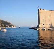 Dubrovnik Bay by Artur Bogacki