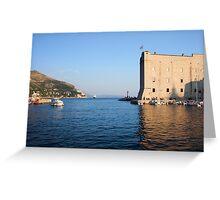 Dubrovnik Bay Greeting Card