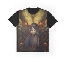 Dragon Quarter Graphic T-Shirt