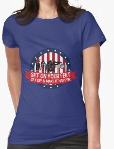 Knope 2012 Campaign Womens Fitted T-Shirt