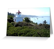 Trinidad Memorial Lighthouse, Trinidad, California Greeting Card