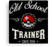 Old school Trainer Canvas Print