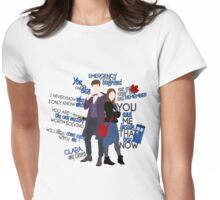 Eleven and Clara Womens Fitted T-Shirt