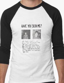 Have you seen me? Stranger Things Men's Baseball ¾ T-Shirt