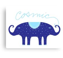 Cosmic Elephant  Canvas Print