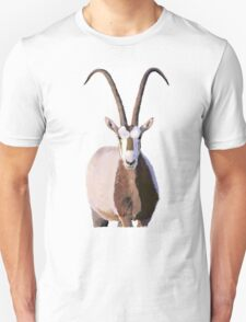 Scimitar-Horned Oryx - for darker clothing T-Shirt