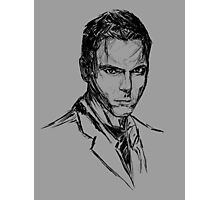 Alex Krycek V01 Photographic Print