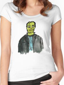 The Monster Women's Fitted Scoop T-Shirt