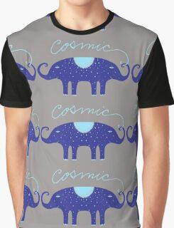 Cosmic Elephant  Graphic T-Shirt