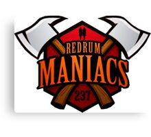 Redrum Maniacs Canvas Print