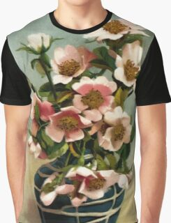 Vintage Wild Roses Graphic T-Shirt