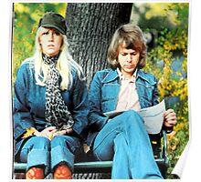 ABBA's kiss! Agnetha and Bjorn lovely design!~ Poster