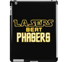 Lasers Beat Phasers iPad Case/Skin