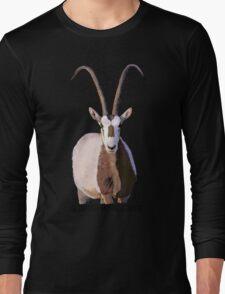 Scimitar-Horned Oryx Long Sleeve T-Shirt