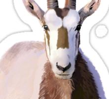 Scimitar-Horned Oryx Sticker
