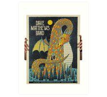 Dave Matthews, Saratoga Performing Arts Center, Saratoga Springs, NY Art Print