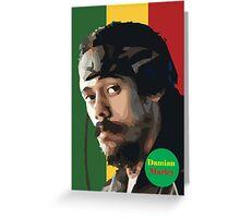 Damian Marley  Greeting Card