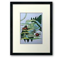 West of Poland (Maine) Framed Print
