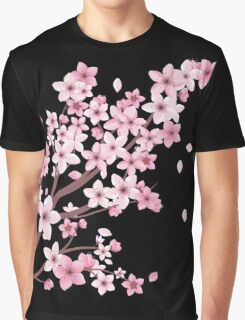 sakura Graphic T-Shirt