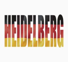 Heidelberg. One Piece - Long Sleeve