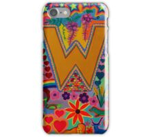 Initial W iPhone Case/Skin