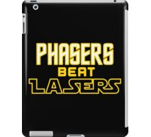 Phasers Beat Lasers iPad Case/Skin