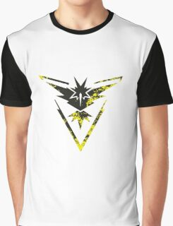 Pokemon GO: Team Instinct Design II (Team Yellow) Graphic T-Shirt