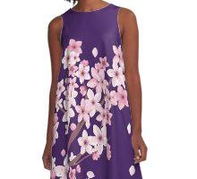 sakura A-Line Dress